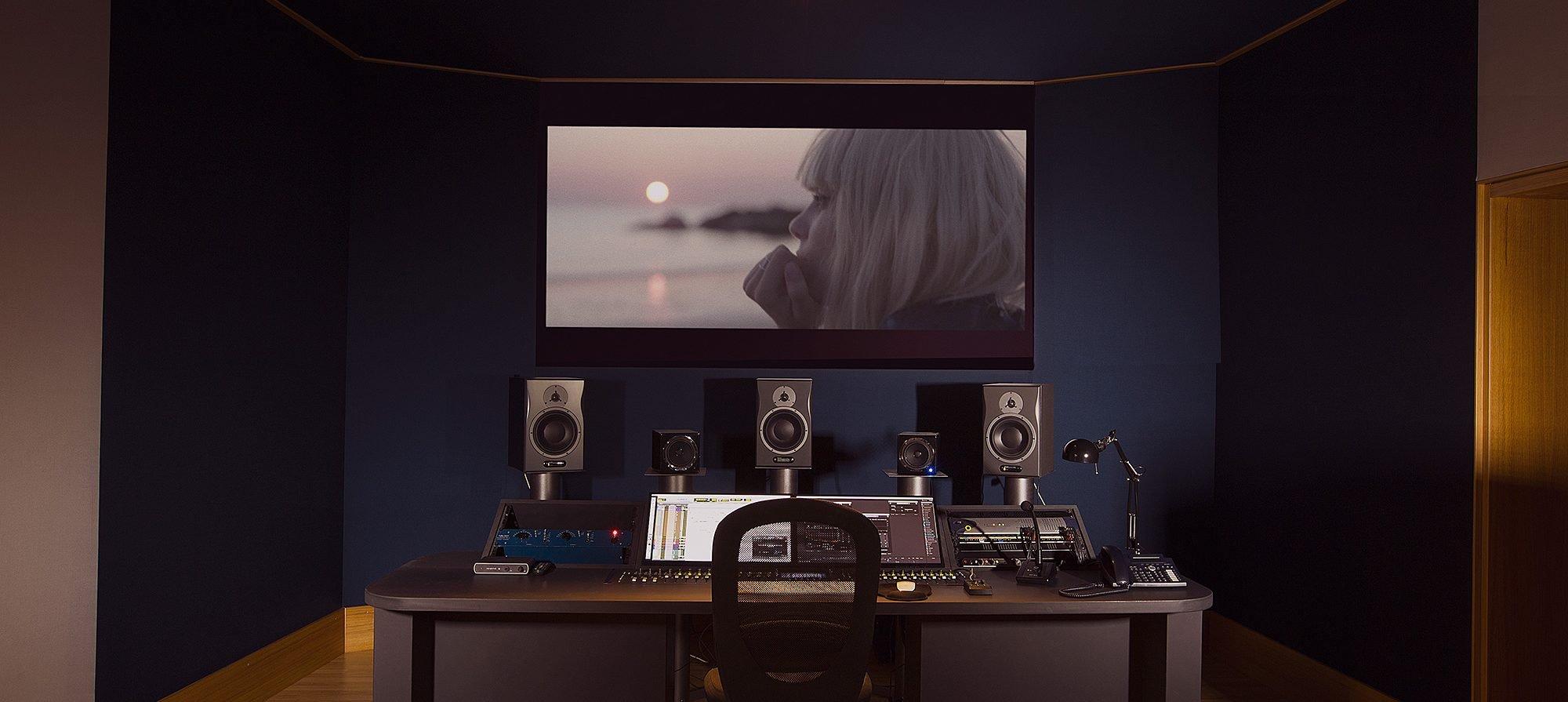 Studio registrazione audio